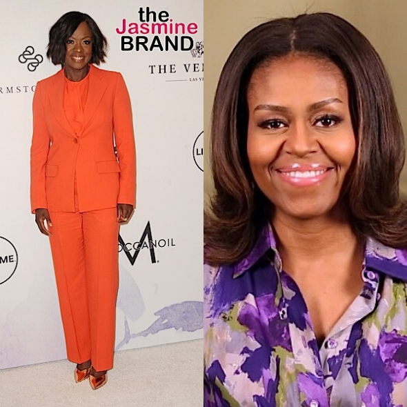 """Viola Davis will co-executive produce the new upcoming series """"First Ladies"""", as well as play Michelle Obama"""