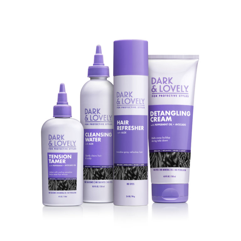 Dark & Lovely Goes Underneath It All With New Line Of Hair Care For Protective Styles