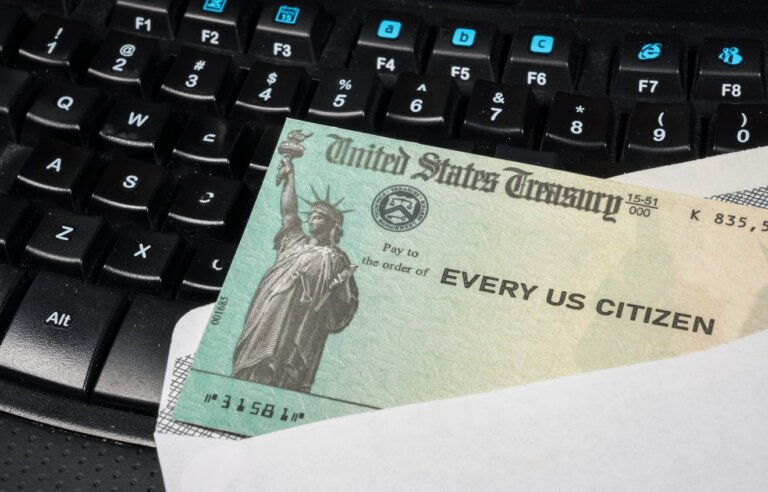 You could receive your $600 stimulus check as soon as Tuesday night, Treasury says