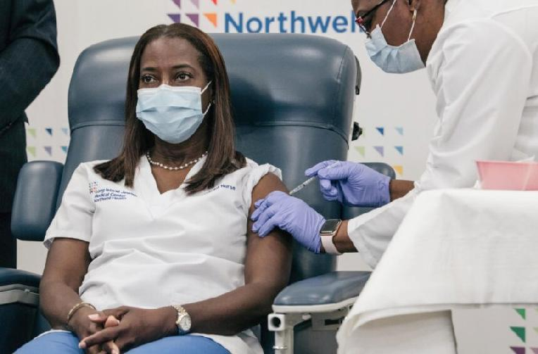 Black ICU Nurse in NY State Among First in US to Get COVID-19 Vaccine