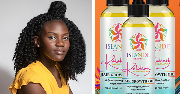 14-Year Old CEO Makes History, Launches Hair Growth Oil to Help Girls Embrace Their Kinky, Curly Hair