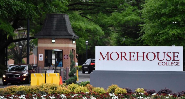 MOREHOUSE COLLEGE TO LAUNCH ONLINE PROGRAM TO HELP BLACK MEN COMPLETE DEGREES
