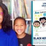 Mompreneur and Her 7-Year Old Son Launch Black Heroes Coloring Book Series