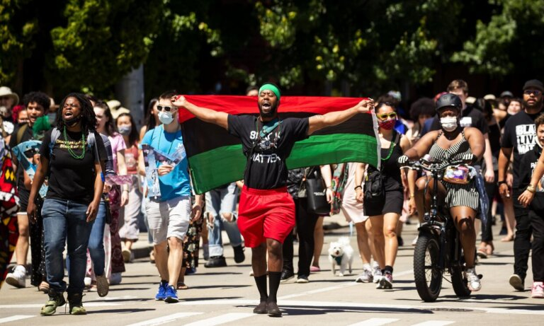 Just because Juneteenth now a federal holiday doesn't mean we stop pushing for racial justice